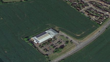 The land west of A144 St John's Road in Bungay. Photo: Google Maps