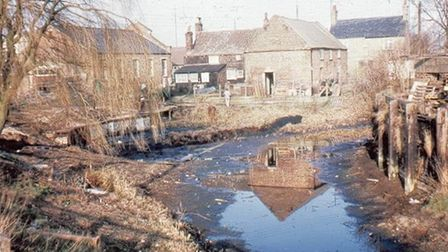 The Creek before its restoration in the 1970's. Picture: Well Creek Trust