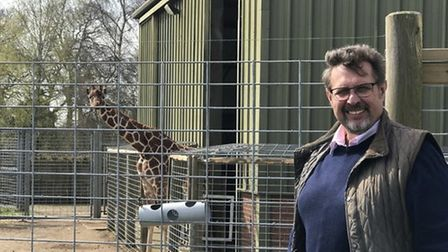 David Field, who is leaving Banham Zoo and Africa Alive! Pic: Archant