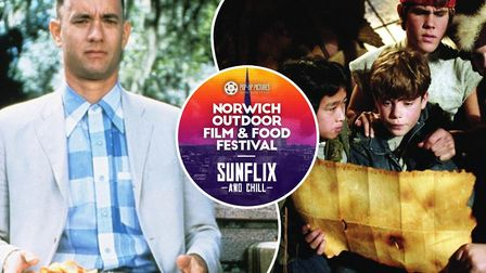 Forrest Gump and The Goonies are just a couple of the hit films that will be shown at the Norwich Ou