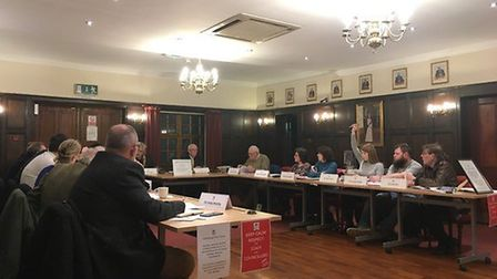 Attleborough Town Council convened on March 9 amid the ongoing 'bullying' saga which has seen Taila