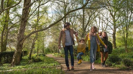 Pensthorpe Natural Park is offering free entry for mums with a paying guest Credit:
