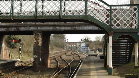 Problems at level crossings between Reedham Railway Station (pictured) and Norwich are affecting tra