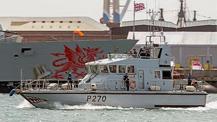 HMS Biter, which will be visiting King's Lynn next week Picture: MOD