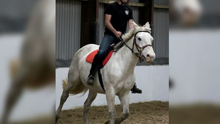 Colin Perriss, new chairman at the Magpie Centre Riding for the Disabled. Picture: Magpie Centre