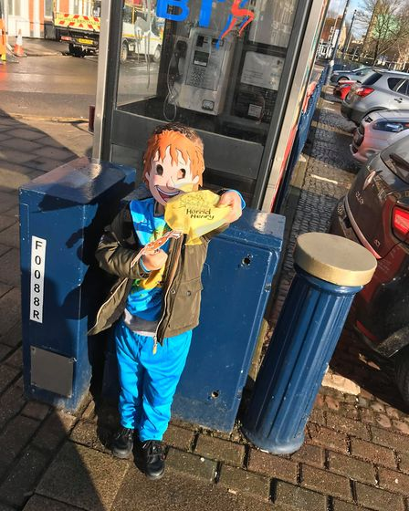 In 2018, the son of Nikita Powell, who is a parent at St Nicholas Priory, dressed up as Horrid Henry