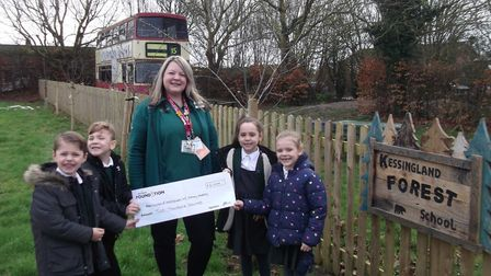 Kessingland Primary Academy say they believe every child should have access to natural environments
