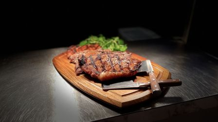Michael's grill and steakhouse offer an all you can eat steak option on Thursday nights. Picture: El