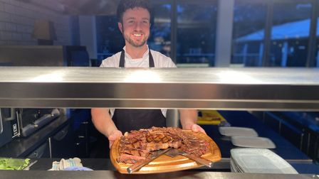 Michael's grill and steakhouse second chef Ross Charlic. Picture: Ella Wilkinson