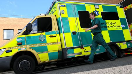 The East of England Ambulance Service has told staff to restrict access to its buildings. Photo: Arc