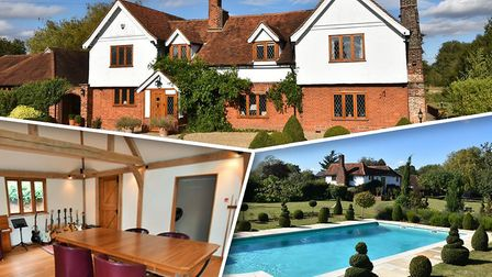 The Moirs' mansion in Essex was being marketed for sale despite a court order freezing their assets