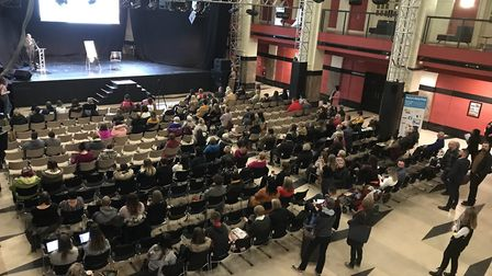 Open Up at The Open event in Norwich. Picture: Neil Didsbury