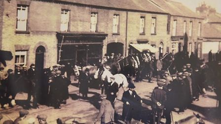 St Winnold's Fair in the 1900s. Picture: Discover Downham Heritage Centre