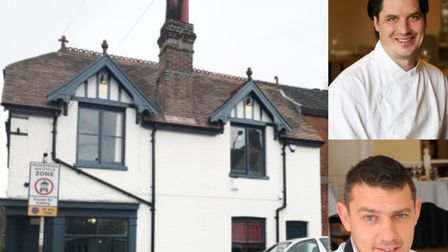 What are chefs Andy Rudd and Roger Hickman hoping to do at Micawbers? Pic: Archant