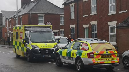 A sudden death at a home on King Street is being investigated by police. Picture: Ruth Lawes