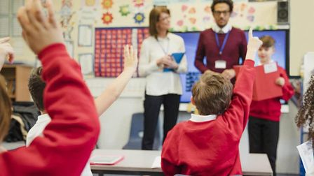 Schools in England will not be closed at this stage. Picture: Getty