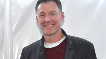 Former Norwich City striker Chris Sutton was the special guest for a successful Lowestoft Lions char