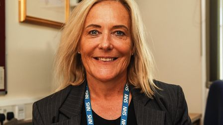 Caroline Shaw, chief executive at the Queen Elizabeth Hospital in King's Lynn Picture: Chris Bishop