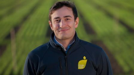 Co-founder and chief operating officer Giles Barker believes that coming from agricultural backgroun