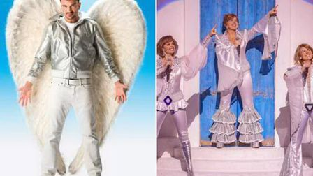 Grease starring Peter Andre and Mamma Mia lead the new season at Norwich Theatre Royal Credit: L-R H