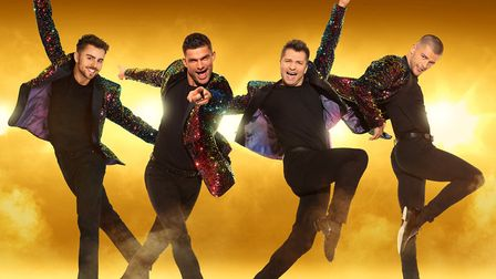 Here Come the Boys is coming to Norwich with Strictly Come Dancing Stars Credit: Supplied by Norwich