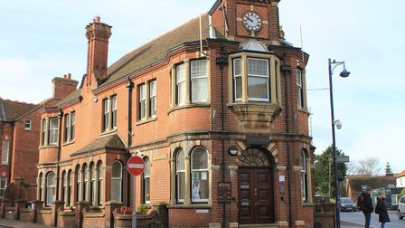 Sheringham's historic town hall, which is now on the market. Pic: ARCHANT