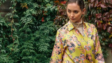 Bella Singleton's prints are inspired by nature. Picture: Katherine Mager