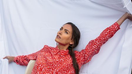 Bella Singleton is well known for her printed silk scarves - now she is moving into ready-to-wear. P