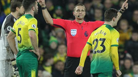 It was VAR to the rescue for the Canaries against Leicester, ruling out Kelechi Iheanacho's goal for