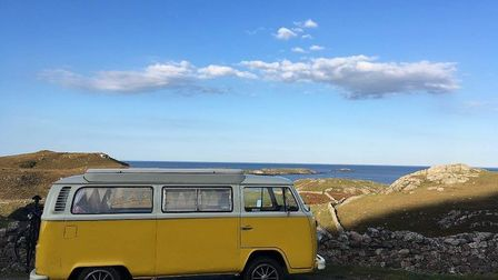Tony Bown's beloved VW, Buttercup