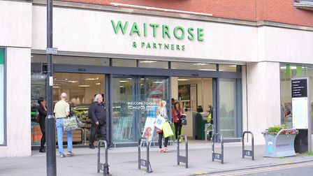 Waitrose is usually the bastion of the middle classes, so if even they are bulk buying, what does th
