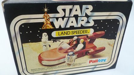 Land Speeder model. PHOTO: Time and Tide Museum