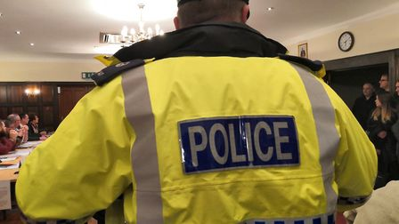 """Police were once again called to Attleborough Town Hall amid the ongoing """"bullying"""" row. Pictured is"""