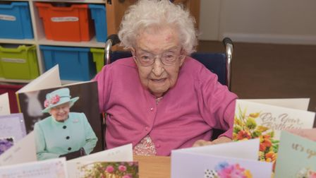 Vera Read celebrates her 107th with family. Pictures: BRITTANY WOODMAN