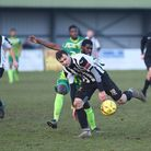 Ryan Crisp scored twice in Dereham Town's 3-1 win at Brentwood. Picture: ARCHANT
