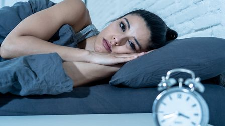 News headlines keeping you awake? Try the Sleep Council's tips. Picture: Getty Images/iStockphoto/sa