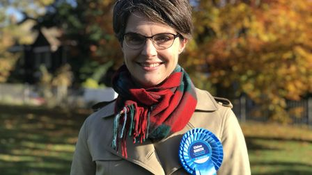Conservative MP Chloe Smith has been tipped for a promotion. Photograph: Neil Didsbury.