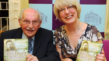 The launch of Phyllida Scrivens book 'Escaping Hitler', about the life of Joe Stirling. Picture: DE