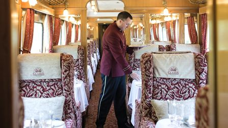 The Northern Belle is Britain's version of The Orient Express Credit: Courtesy of Northern Belle