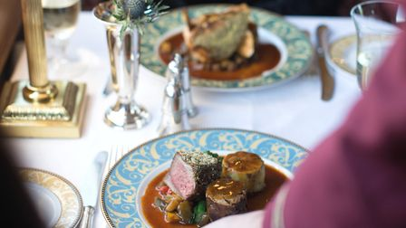 The Northern Belle is returning to Norwich and will serve a seven-course Sunday lunch Credit: Courte