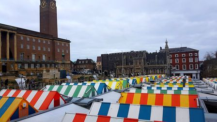 Norwich Market Picture: Nick Jager/witness24