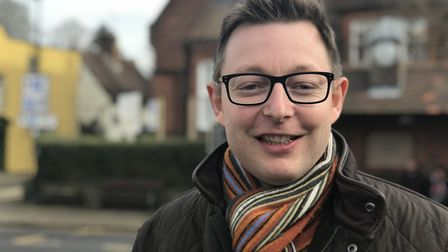 Duncan Baker, the Conservative MP for North Norfolk .Picture: Victoria Pertusa