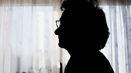 A Dereham resident, who found someone burgling her home days after her husband died. Picture: Matthe