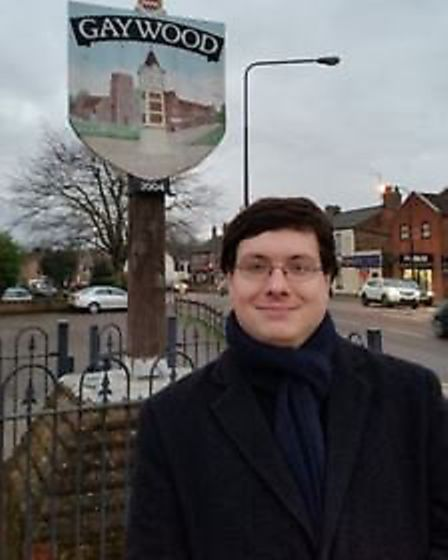 Thomas Smith, Conservative councillor for Gaywood South. Pic: Norfolk Conservatives.
