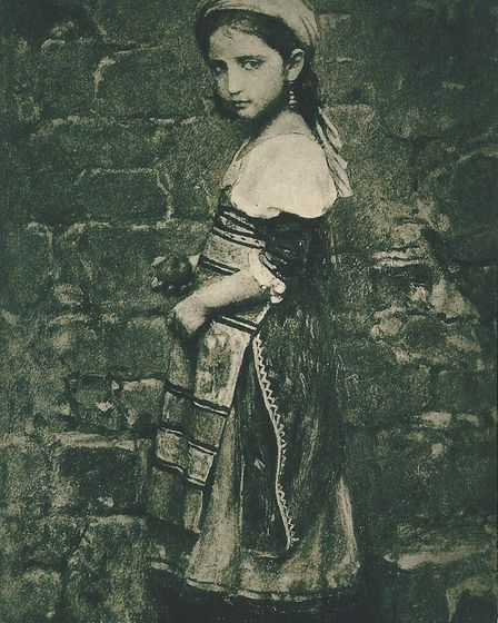 Painting of Maria by Charles Jalabert, exhibited in the Paris Salon in 1863. Picture: Archant librar