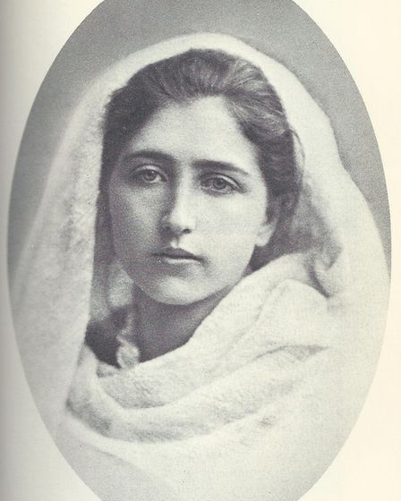 Maria Pasqua at the time of her marriage in 1881. Picture: Archant library