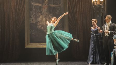 Matthew Bourne's The Red Shoes is running at Norwich Theatre Royal until this weekend Credit: Johan
