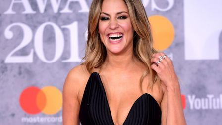 Caroline Flack was advised not to share the post on social media. Picture Ian West/PA Wire.