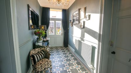 Hallway in Belle Vue Guest House in the village of Denver. Picture: Martyn Wardle