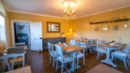 The Breakfast Room in Belle Vue Guest House in Denver. Picture: Martyn Wardle